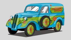 Cómo serían los coches de las películas si cambiaran de modelo (fotos)