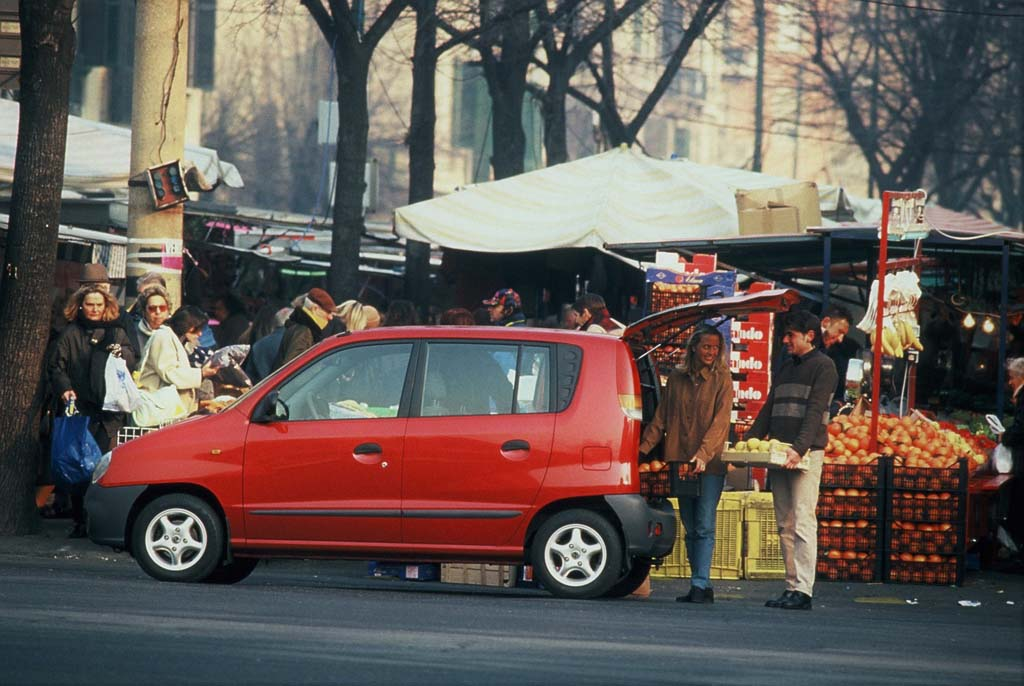 Hyundai Atos coches feos años 90