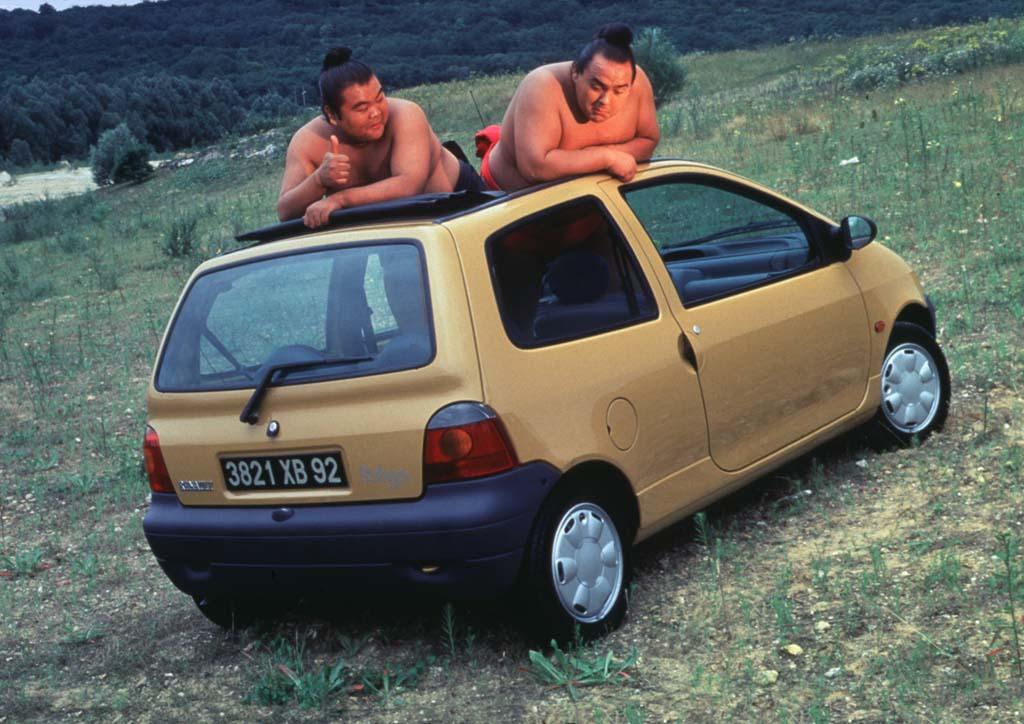 Renault Twingo coches feos años 90