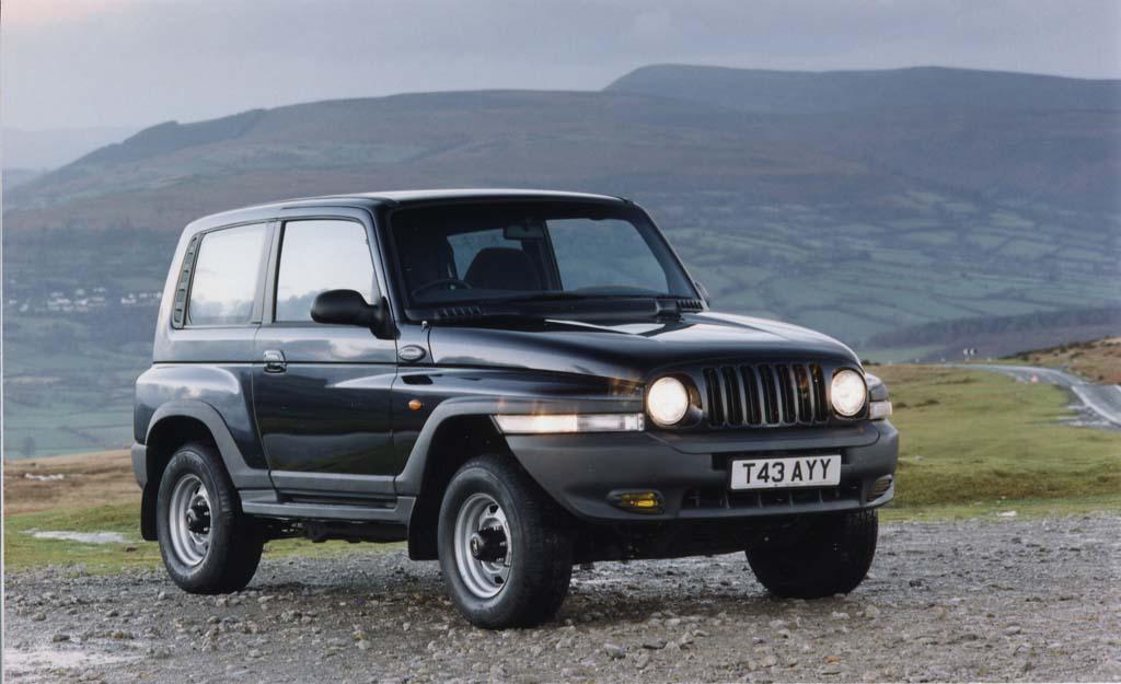 Sssangyong Korando coches feos años 90