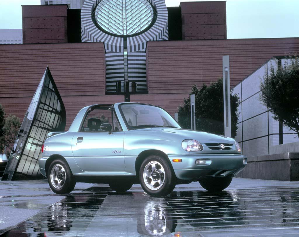 Suzuki X-90 coches feos años 90