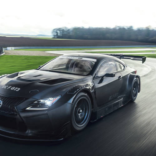 Lexus RC F GT3 2017, más de 500 CV para el Lexus más potente