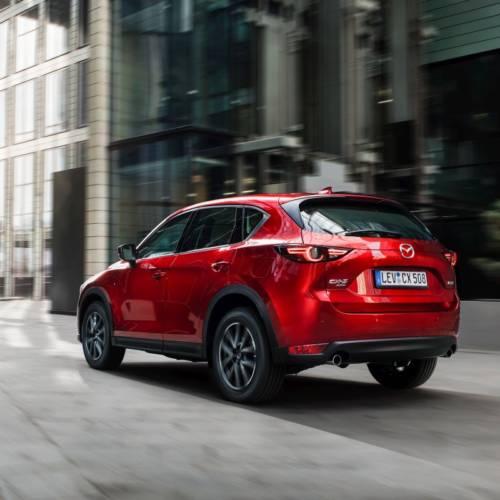 Mazda CX-5 2017: así es la versión europea del SUV nipón