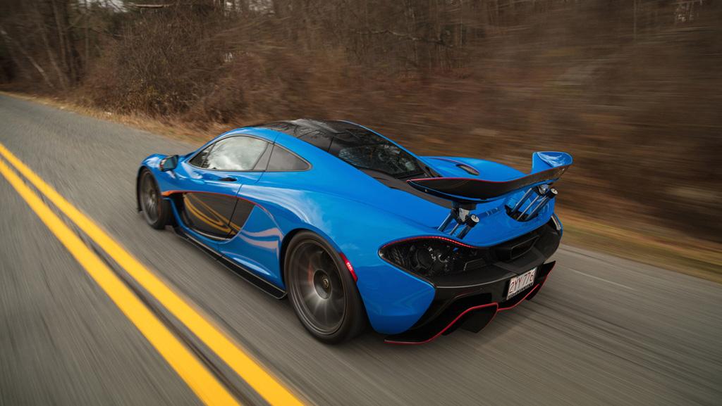 McLaren P1 más caro en subasta