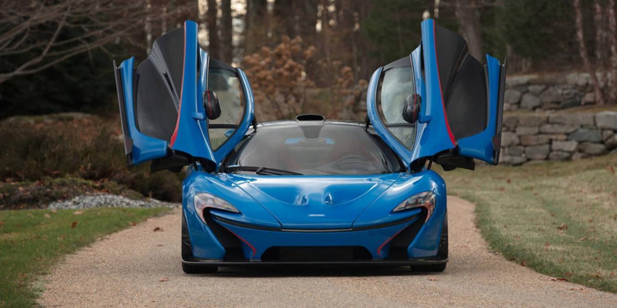 El McLaren P1 más caro ha sido subastado