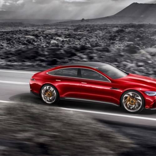 Mercedes-AMG GT Concept, se muestra la versión de cuatro puertas