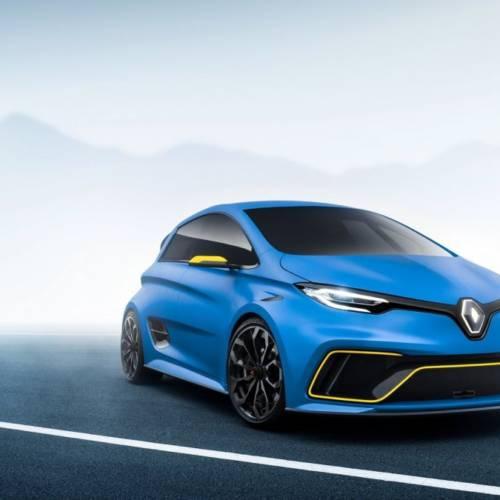 Renault ZOE e-Sport Concept, una bestia de 460 CV