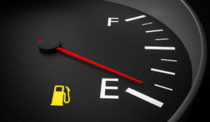 Testigo del nivel de combustible
