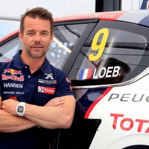 """Sebastien Loeb: """"no me imagino a Carlos Sainz dejando la competición"""""""