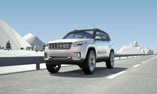 Jeep Yuntu Concept, el futuro de Jeep son los híbridos enchufables