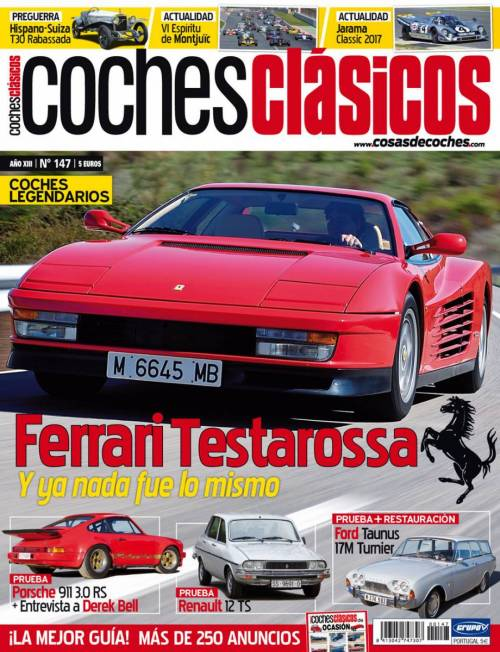Revista COCHES CLÁSICOS número 147