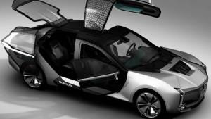 Qoros Model K-EV (fotos)
