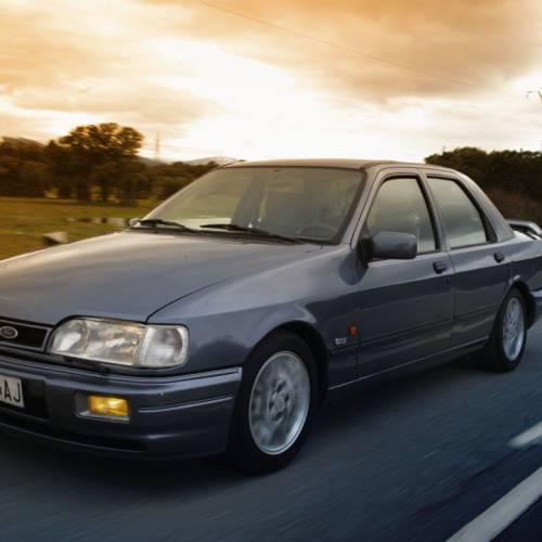 Ford Sierra RS Cosworth: historia, modelos y prueba