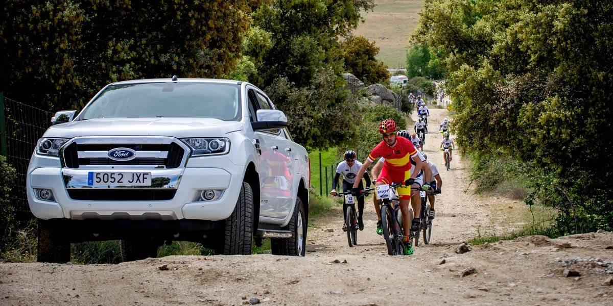 Ford, protagonista de la Imperial Bike Tour