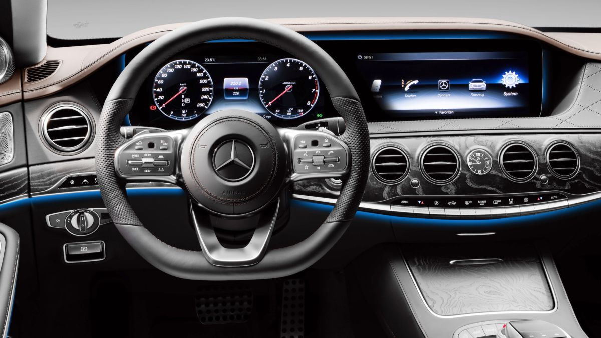 Mercedes Clase S 2018