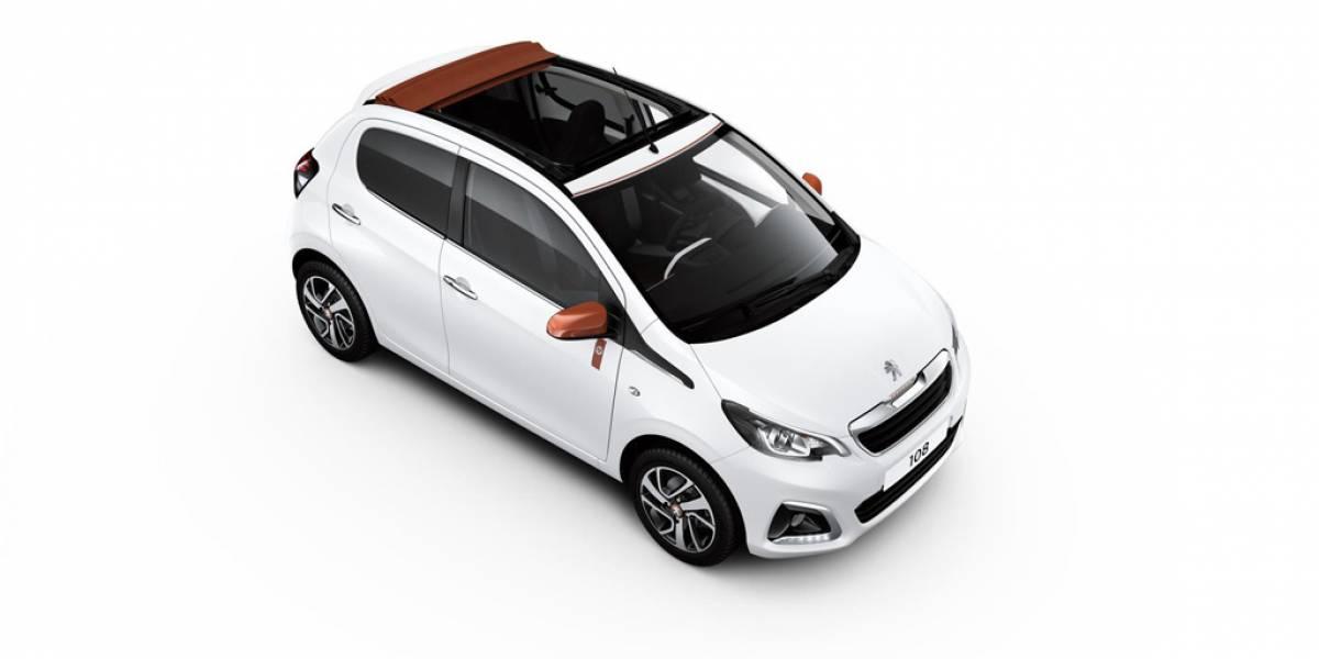 Peugeot 108 Top! Roland Garros: olor a tierra batida