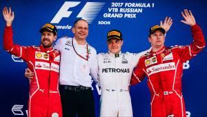 Bottas celebra su primera victoria en la Fórmula 1 en el Gran Premio de Rusia (fotos)