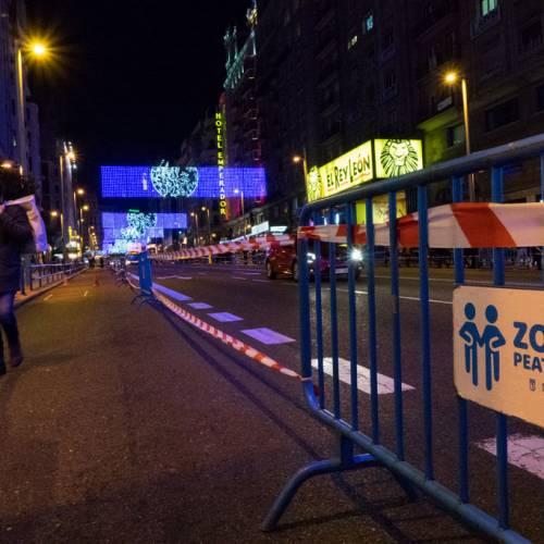 El Ayuntamiento de Madrid, condenado por los cortes de tráfico en Navidad