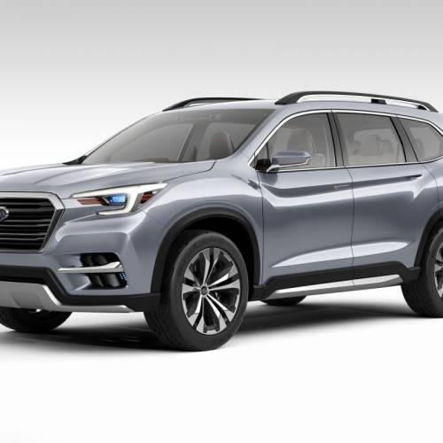 Subaru Ascent SUV Concept, ¿solo para Estados Unidos?