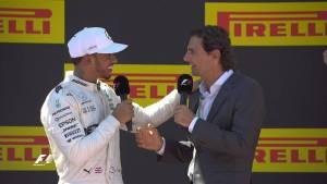 Hamilton vuelve a lo más alto del podio: el mundial es cosa de dos (fotos)