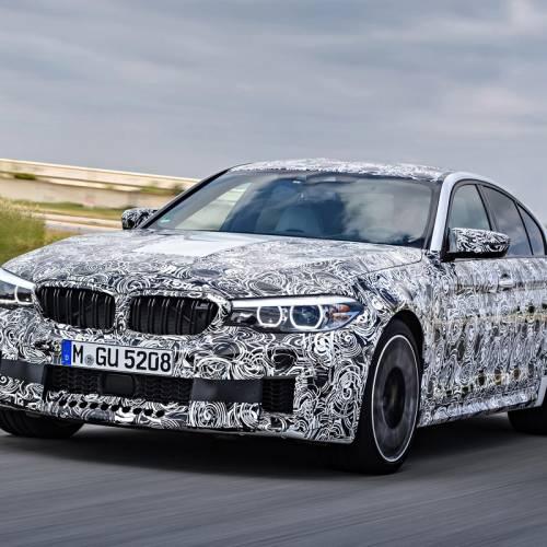 BMW M5 2017: primeras imágenes e información