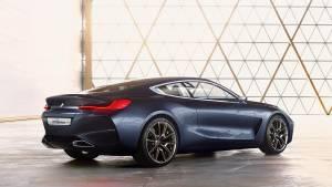 BMW Serie 8 Concept: la esencia coupé de BMW (fotos)