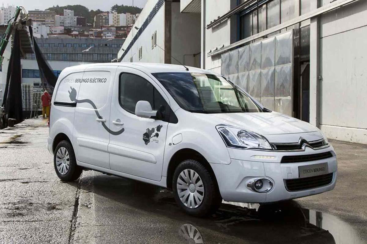 Los coches eléctricos de Citroën: E-Berlingo