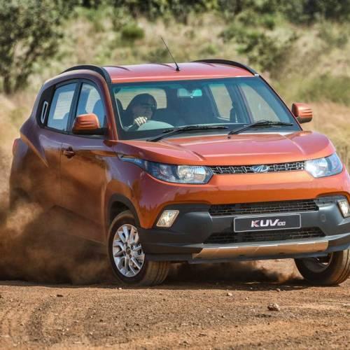 Mahindra KUV100, un mini SUV muy peculiar que llega a España