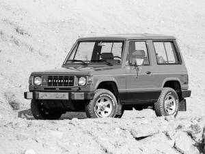 Mitsubishi Montero 3 puertas (L040) '1983–86