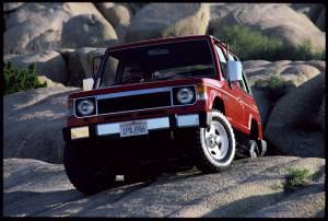 Mitsubishi Montero - Primera Generación