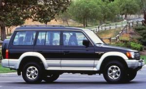 Mitsubishi Montero Wagon 1991–97