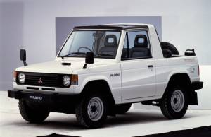Mitsubishi Montero Canvas Top 1982–91