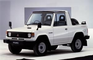 Mitsubishi Montero Canvas Top 1982–91