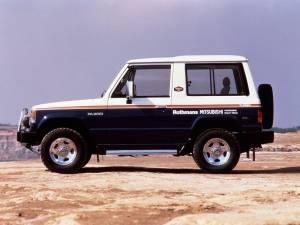 Mitsubishi Montero Rothmans Special 1987