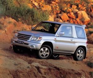 Mitsubishi Montero iO ZR 3 puertas 2001–02