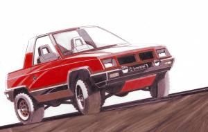 Mitusibishi Pajero II - Concept Cart (1979)