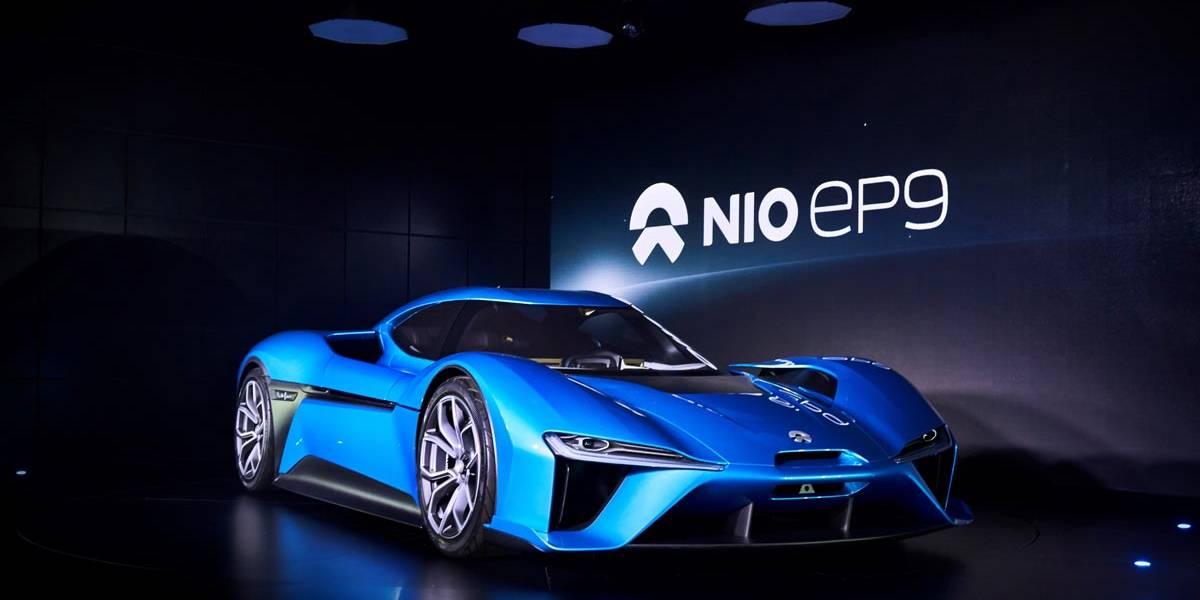 El NIO EP9 eléctrico establece un nuevo récord en Nürburgring