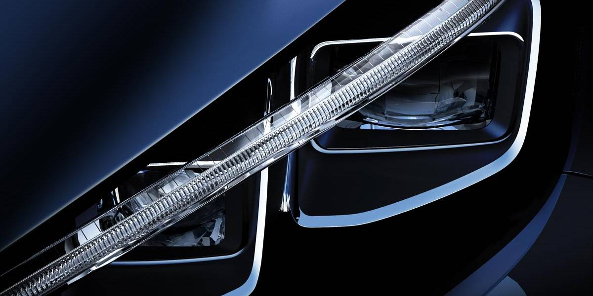 Nissan LEAF 2018, la primera imagen de la próxima generación