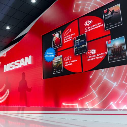 Nissan renueva la imagen de sus concesionarios con una mayor presencia de la tecnología
