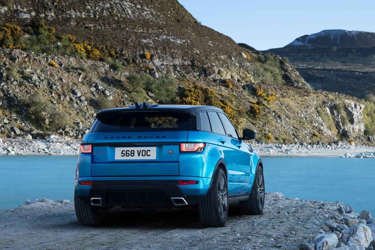Range Rover Evoque Landmark Special Edition (fotos)