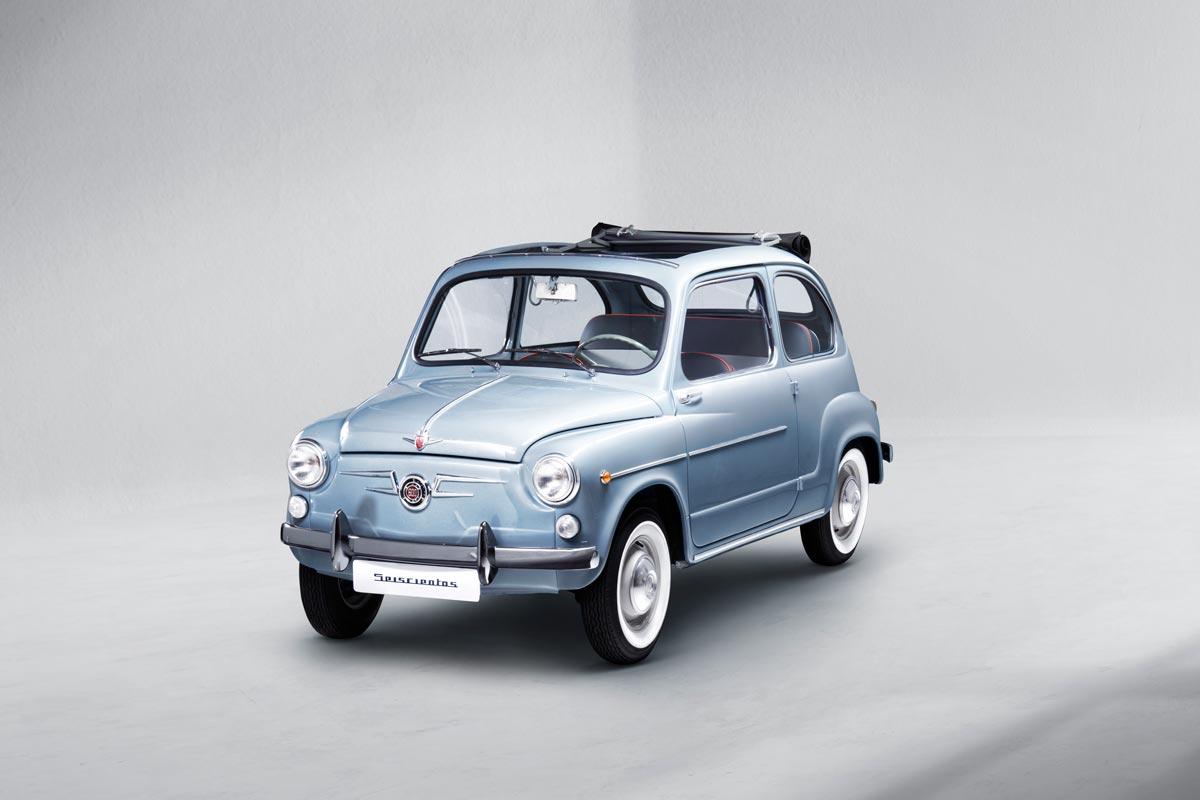 Así restaura SEAT un 600 D Descapotable de 1965 (fotos)