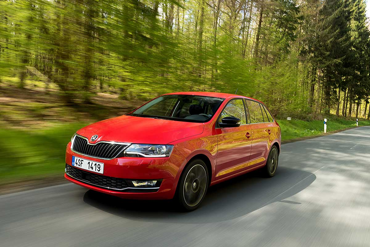 Skoda Spaceback 2017 (fotos)