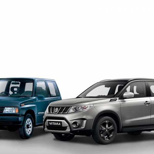 Suzuki Vitara: 30 años de su concepción