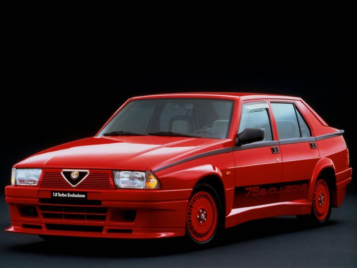 Alfa 75 Turbo Evoluzione: historia, modelos y prueba (fotos)