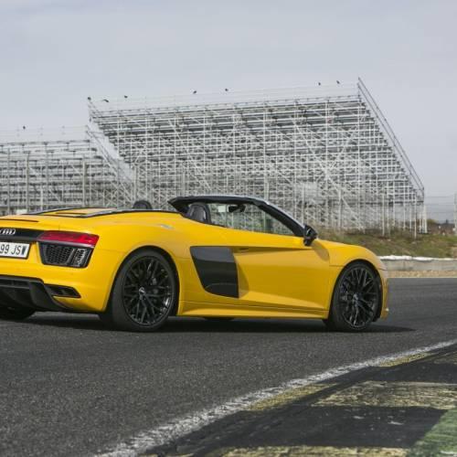Audi R8 Spyder V10, a prueba: sonidos emocionales