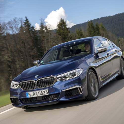 BMW M550i xDrive 2017, primera prueba