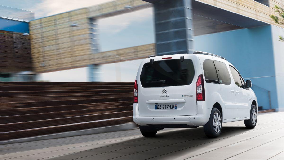 Los coches eléctricos de Citroën: E-Berlingo Multispace