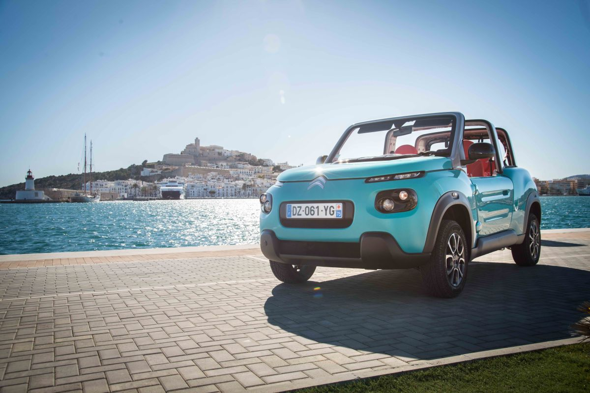 Los coches eléctricos de Citroën: E-Mehari