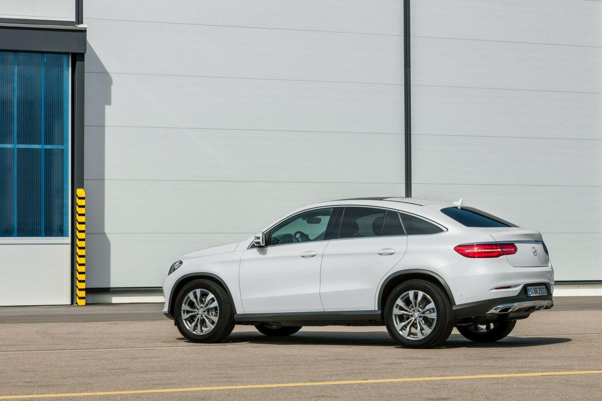 Coches que se están saliendo en ventas: Mercedes GLE