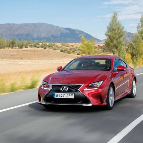 Lexus RC 300h Executive, a prueba: hibridación deportiva